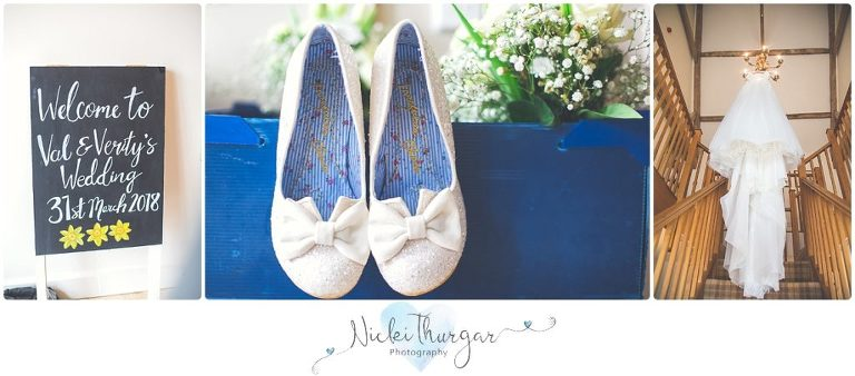 wedding sign, wedding shoes, wedding dress